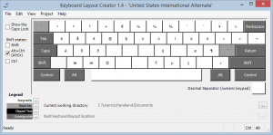 US-International Alternate Composed Keys