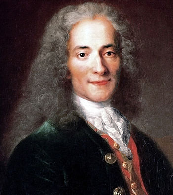 Voltaire fought intolerance and fanaticism, an...
